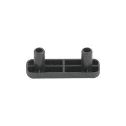 Подпятник черный пластиковый 16х50