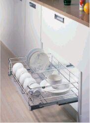 Сушка для посуды в ниж. базу на 600 440х567х170, хром