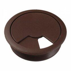 Заглушка компьютерная(кабель канал 60мм) №08 шоколад