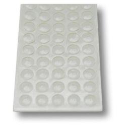 Амортизатор  силиконовый 10*1,5 мм самоклеющийся 50 шт на листе