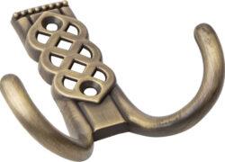 Крючок мебельный ARH-62, ст. бронза 60/10