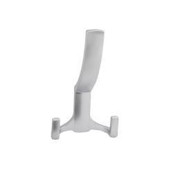 Крючок мебельный R17 3-х рожковый, хром
