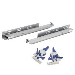 Направляющие полного выдвижения Unihopper L 450 (скрыт.монтаж)